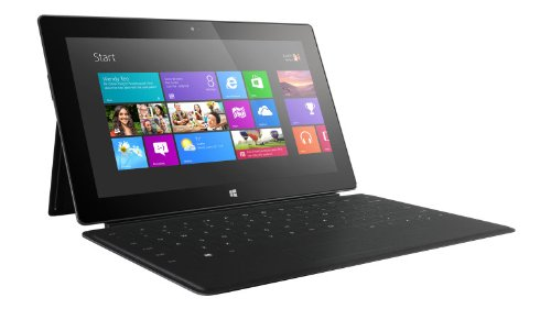 Microsoft Surface RT With Keyboard and Cover - Tablets with